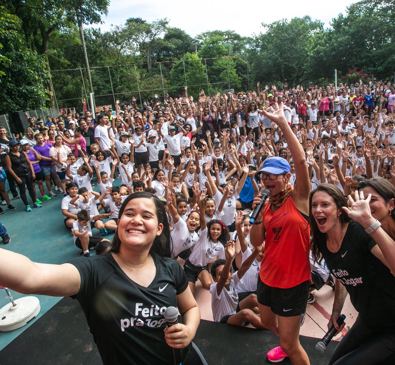 Nike quer contar para o mundo sobre o projeto Vida Corrida, do Capão Redondo